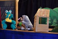 Divadélko a naše nová kamarádka opice Žofka