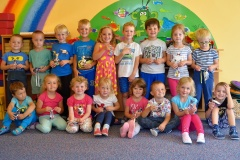 Skupinka děti 16.9.2020