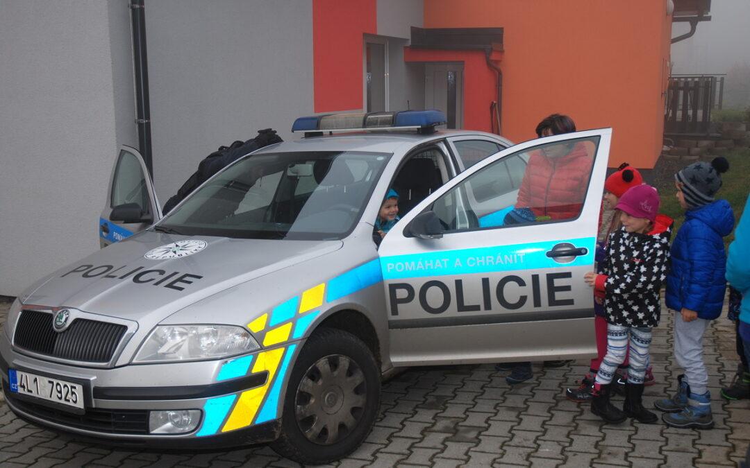 Policie u nás ve školce
