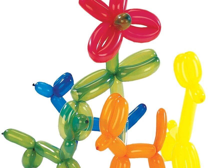 Balónkové vystoupení u nás ve školce